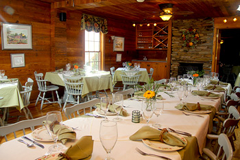 Full Complimentary Breakfast at Glen-Ella Springs Inn Restaurant